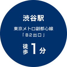 渋谷駅 東京メトロ副都心線「10番出口」
